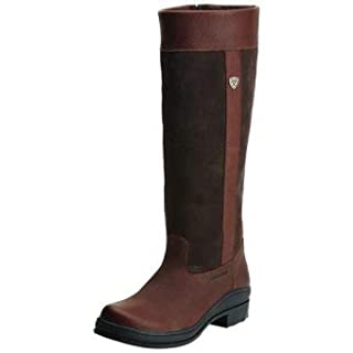 Ariat Womens Windermere H2O Dark Brown Leather Boots 6 UK