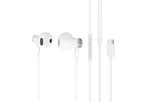 XIAOMI Kopfhörer Typ C Weiß Audio HI-R und Stecker Typ C thumbnail
