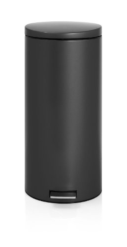 Brabantia 478826 Treteimer 30 L Silent mit Kunststoffeinsatz, matt black Brabantia 30 L Matt
