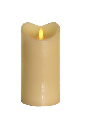 TRONJE LED-Echtwachskerze 18cm Stimmung - LED-Lampe