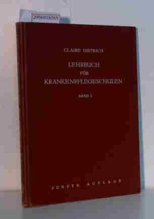 Physiologie, pathologische Physiologie, Pharmakologie: aus: Lehrbuch für Krankenpflegeschulen, Bd. 1