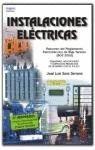 Instalacioneseléctricas por JOSÉ LUIS SANZ SERRANO