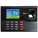 HFeng 2.8 Pulgadas TCP/IP/USB Realand Huella Digital biométrica Tarjeta de Tiempo Locker Asistencia máquina Finger Scanner 2000 Capacidad de Usuario para el hogar/Oficina