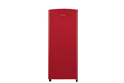 Hisense RR220D4AR2 128x52cm 164L Freestanding Fridge With Icebox - Red Best Price and Cheapest