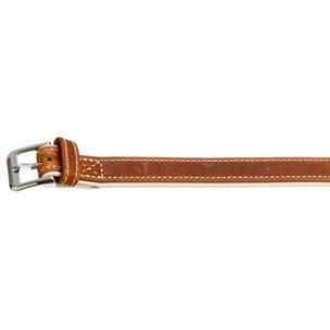 karlie-comfort-collar-marron-45cm-22mm-en-piel-suave
