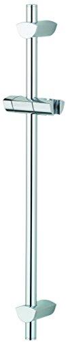 Bristan EVCADR01C Barre de douche en plaqué chrome EVO avec fixations réglables, EVC ADR01 C
