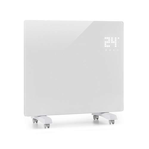 Klarstein Bornholm Single Elektro-Heizung E-Heizung Konvektionsheizgerät Heizgerät (500 oder 1000 Watt, 5-45°C, LED-Touch Display, ECO-Modus, 24 h Timer, Fernbedienung) weiß