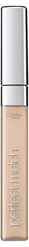 L'Oréal Paris - Soin Correcteur Fluide Accord Parfait - Tous Types de Peaux - Teinte : Ivoire Rosé (1.R/C) - 6,8 ml