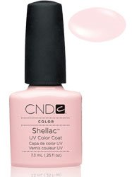 Cnd Cosmetics Creative Nail Design Shellac Uv Color Coat Clearly Pink .25Oz