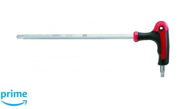 T30 151.2760 Ks/_Tools T-Griff-Winkelstiftschlüssel TX mit Kugelkopf