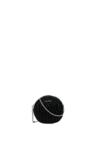5BH031NERO Miu Miu Sac à bandoulière Femme Cuir Noir Noir