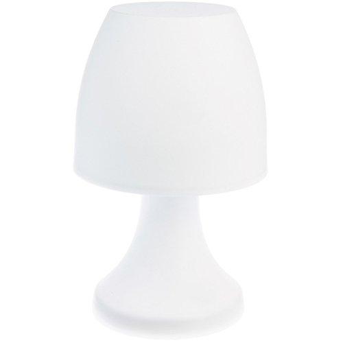 Jardideco - Lampe champignon à poser 27 cm - Blanc
