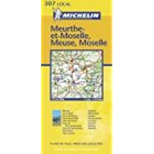 Carte routière : Meurthe-et-Moselle - Meuse - Moselle, N° 11307