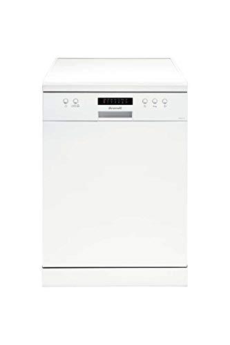 Brandt DFH13217W Autonome 13places A++ lave-vaisselle - Lave-vaisselles (Autonome, Blanc, Taille maximum (60 cm), boutons, LED, 1,35 m)