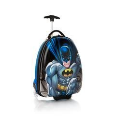 Heys Warner Bros Batman Brand New Exclusive Designed Multicolored Carry on Approved Kids Luggage 18