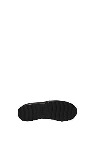 HXW2610V410E1O0BB2 Hogan Sneakers Femme Cuir Noir Noir