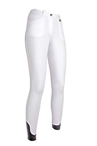 HKM Erwachsene Reithose-Kate-Silikon-Vollbesatz1200 weiß40 Hose, 1200 weiß, 40