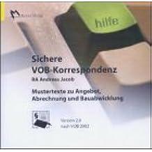 Sichere VOB-Korrespondenz 2.0. CD-ROM für Windows 95/98/2000/NT