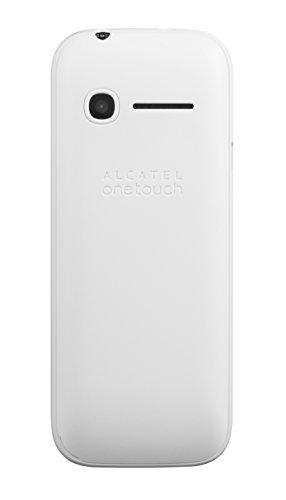 Alcatel 1052D-3BALDE1 10.52D 4,57 cm 1,8 Zoll Smartphone (Bluetooth, Dual SIM, SD Karten-Slot bis 32 GB) weiß