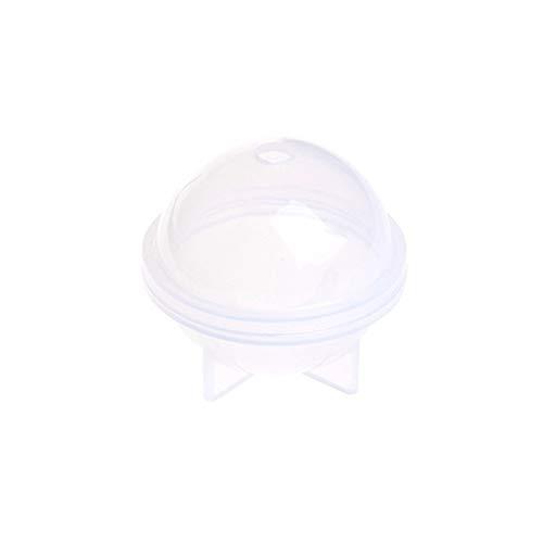 Berrose-Stereo sphärische silikonform schmuckherstellung DIY bälle Harz Kristall epoxy Ball schimmel transparent-Ball Kugel briefbeschwerer silikonform, Fuer Polymer Ton, Herstellung, epoxidharz