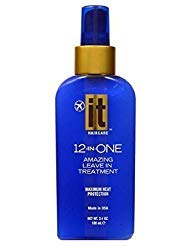 Hair Mist 12 in One Miracle Mist by IT Haircare, Repair Protect Strengthen Miracle Mist with exclusive Abyssinian Oil, Protects split ends, Protects your color, Removes Tangles, Guards against curling and flat irons, Deep Conditions, Transforms frizz to Silk, 3.4oz bottle by Key Brands Inc