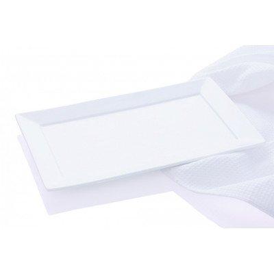 Maxwell et Williams Basics Cosmopolitan Plateau Rectangulaire, 16,5 cm, Blanc