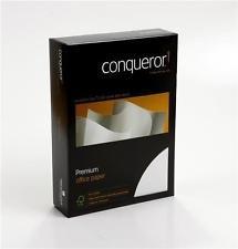 Conqueror A4Premium Papier Diamant weiß Laid 500Blatt (100gsm)
