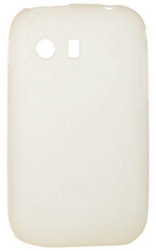 iCandy™ Colourful Thin Matte Finish Soft TPU Back Cover For Samsung Galaxy Y S5360 - White  available at amazon for Rs.119