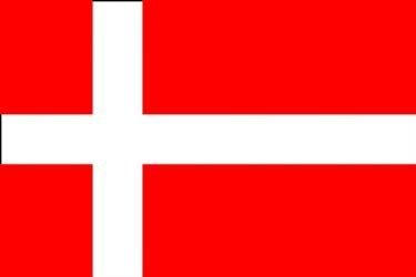 Un Kostüm Dänemark - TOP BRAND Dänemark Flagge Massive 8'X5' (2,4m lang.)