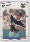 1988 Fleer # 485 Bob Boone California Angels Baseball Card