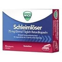 Wick Schleimlöser Spar-Set 2x10Hartkapeln. Hilft Ihnen, hartnäckige Verschleimungen abzuhusten und zu verhindern... preisvergleich bei billige-tabletten.eu