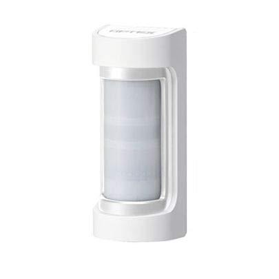 OPTEX VXS-RDAM(W) Dual PIR+MW Nachtsichtgerät für den Außenbereich, 12m 90°, mit Antimascherung, Korpus weiß mit Deckel weiß - Dual-nachtsichtgerät
