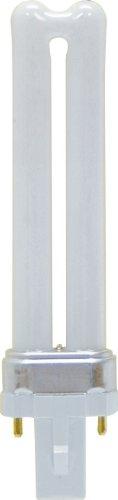 GE Lighting Energy Smart CFL 18 Watt, Weiß (Soft White), g23 7W 120V - 7w Cfl