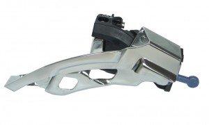 Dérailleur top swing-lX - 31,8 mm-noir-fD-t 670 dual pull 66-69°f. 44/48 dents
