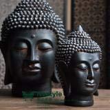 Estatuas de cabeza de buda de resina de estilo sudeste de Tailandia para decorar el hogar,...