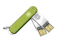 Victorinox Slim DUO - Tarjetas de memoria (2 x 64 GB), diseño de nava
