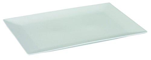 Dajar Servierplatte Porto 31.5 x 20cm, Porzellan, Weiß, 31,5 x 20 x 2 cm