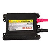 Leoie Car Slim Ballast Universal DC 12V 55W HID Replacement Conversion Kit -2 Pieces Set