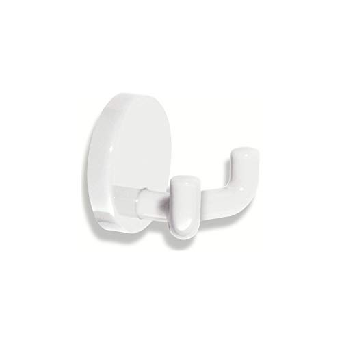 HEWI Doppel-Wandhaken | Polyamid reinweiß 99 | 1 Stück | 477.90.025 -