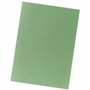 Falken 100 x Aktendeckel A4 230g/qm Karton grün