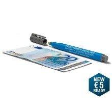 Geldscheinprüfstift 30, Währung alle, 15mm breit, Tiefe 10mm, grau