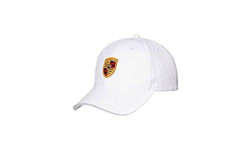 Original Porsche Design Cap Wappen, weiß WAP 080 004 0C
