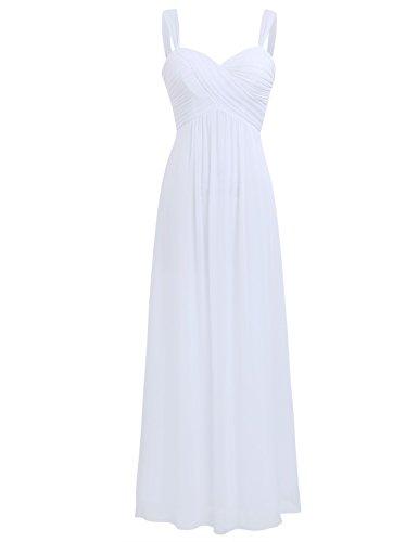 Tiaobug Elegant Damen Festliche Kleider Sommer Chiffon Kleid Cocktailkleid Abendkleid Hochzeit...