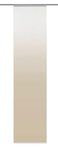 Home fashion madrid tenda a pannello, poliestere, sabbia, 245 x 60 cm