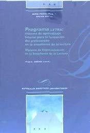 Programa Letra: sistema de aprendizaje tutorial para la formación del profesorado en la enseñanza de la lectura (Materiales Didácticos Universitarios)