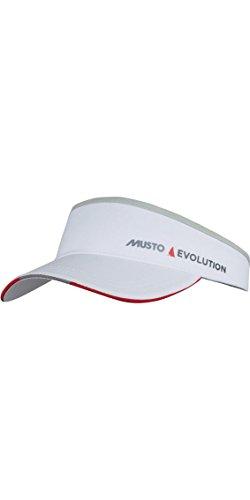 Musto Evolution Race Visor White - Unisex - Nutzen Sie den Komfort und die Sicht auf dem Boot in diesem Evolution Race Visor -