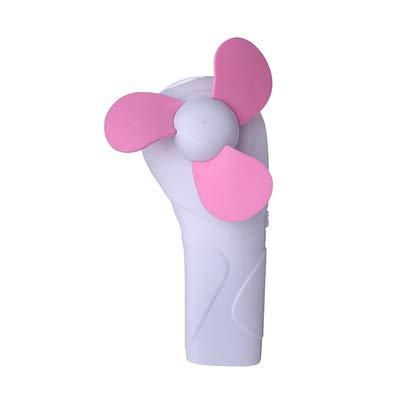 SYXZ Mini Klimaanlage Fan Led Beleuchtung Taschenlampe Portable USB KüHler KüHlung Handheld Student Kind Stumm,Pink,23x25x140m (Pink Box-taschenlampe)