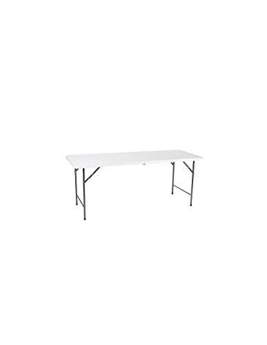 Perel Folding Table Camping Tisch Weiß FP183 Belastbarkeit (Gewicht) (max.) 100 kg