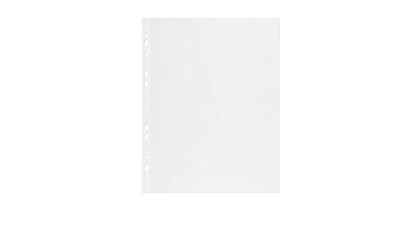 mashpaper 65000450 Lot de 50 feuilles de papier photo autocollant Blanc