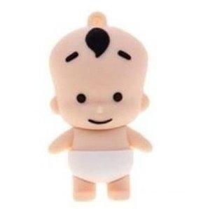 Bébé blanc à 16Go–stockage de données USB Flash Drive Mémoire–Stick–Clé–Rose et Blanc